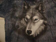 The Mountain Apparel Wolf Blue Tie-Dye Cotton T Shirt Size 2XL