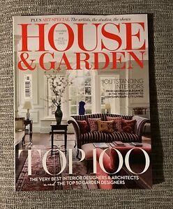 HOUSE AND GARDEN MAGAZINE - November 2021 - NEW