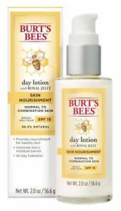 Burt's Bees Skin Nourishment Day Lotion w/Royal Jelly for Normal To Combination