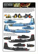 Kits World Decals 1/72 DOUGLAS A-26 INVADER For Pete's Sake & Lady Liberty