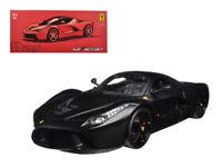 Ferrari LaFerrari F70 Matte Black 1:18 Diecast - Bburago Signature - 16901BK*