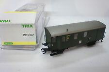 23997 TRIX H0 Güterzug Gepäckwagen DB 124 888 OVP neuw. 1:87 Eisenbahnwaggon