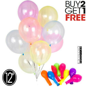 "12"" Crystal Clear AirFill Latex Ballons Birthday Event Party Crystal baloon"