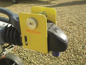 Milenco Winterhoff WS3000 – Heavy Duty Caravan Hitch Lock