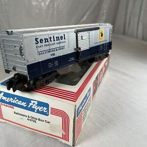 American Flyer Baltimore & Ohio Box Car # 4-9702 In Original Box