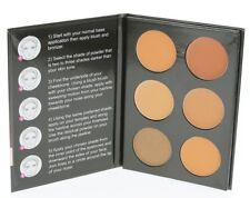 Cameo Cosmetics 6 Shades Contour Kit, Medium Colors - Sleek Makeup Palette