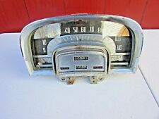 1953 Cadillac Speedometer Gauge Cluster