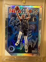 "2019-20 NBA Hoops Premium Stock LUKA DONCIC SSP HOLO PRIZM ""Get Out The Way""🏀🔥"