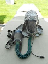 Vietnam Era M25 Tanker Gas Mask w/ Hood and Carrier