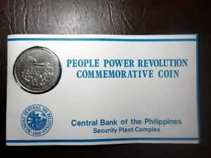 10 Peso 1988 People Power Commemorative in 🔥Mint Condition🔥 #EB001