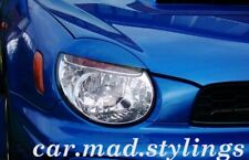 SUBARU IMPREZA BUG EYE 02-03 EYEBROWS/LIGHT BROWS/EYELIDS