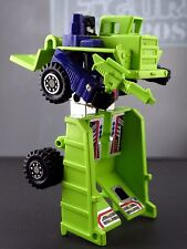 LONG HAUL 1985 Transformers Devastator Constructicon Decepticon Toy Figure + GUN