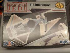Star Wars -TIE Interceptor - ERTL - Snap Model Kit - #8931 - 1990 - NEW
