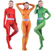 Halloween Totally Spies Cosplay Costume Zentai Jumpsuit Bodysuit Women Plugsuit