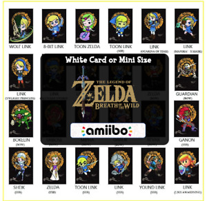 ANY Zelda Custom Mini NFC Amiibo Cards - Breath of the Wild|The Legend of Zelda