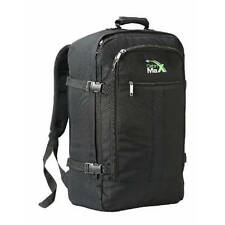 Cabin Max Travelling Backpack Luggage Bag Rucksack 44L Flight Approved Black