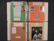 RED SOX(2 Notebooks/186 Pages/100 Autographs/290+ Players/Many Obit/DOM DiMAGGIO