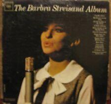 BARBRA STREISAND: THE BARBRA STREISAND ALBUM; DEBUT 1963 COLUMBIA 2007 MONO LP