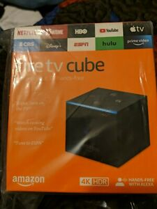 Amazon Fire TV Cube (2nd Generation) 16GB 4K UHD Media Streamer