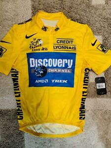 Lance Armstrong, 2005, Nike, Discovery, Yellow Jersey