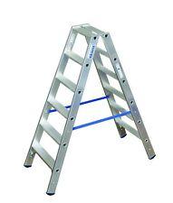 Krause 124746 STABILO Stufen-DoppelLeiter 2 x 6 Stufen Doppel Leiter 1,40 m