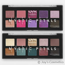 (1) NYX Mystic Petals Shadow Palette Mpsp01 Midnight Orchid