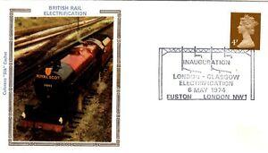 1974 Colorano Silk Cover London-Glasgow Electrification #3072