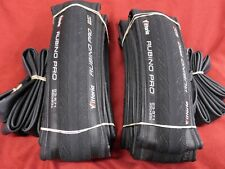 2 Vittoria Rubino Pro 650 x 23 Black Folding Clincher Tires 205 Grams & PV Tubes