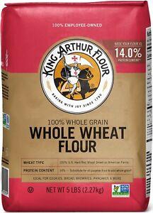 King Arthur Whole Wheat Flour 5 LB