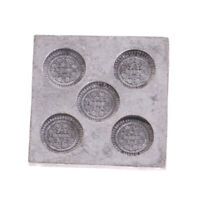 1/12 Miniature Metal Cookie Mould Model Dollhouse Kitchen Accessories Decor