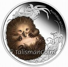 Australia 2013 Bush Babies II #3 Baby Echidna Anteater 50 Cents Silver Proof