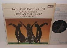 SXL 6703 Ravel Daphnis Et Chloe Cleveland Orchestra Lorin Maazel