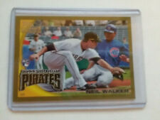 2010 Topps Gold Neil Walker RC #/2010 Pirates