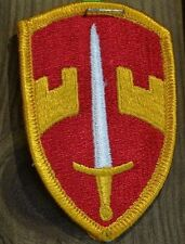 "US MILITARY ASSISTANCE COMMAND PATCH 4""x2"" MILITARY LOOK"