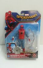 NEW Spider-Man: Homecoming Spider man with Home made costume action figure