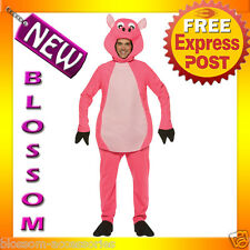 C440 Mens Pig Animal Humour Party Funny Halloween Fancy Dress Costume Outfit