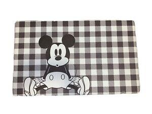 Disney Anti Fatigue Kitchen Mat Rug MICKEY MOUSE NWT 18 X 30 Buffalo Check