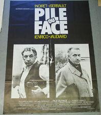 Affiche de cinéma : PILE OU FACE de Robert ENRICO