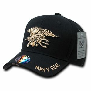 US Navy SEAL United States Navy Officially Licensed Military Hat Baseball Cap Ha