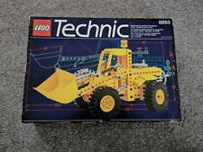 Lego Technic 8853 Yellow Digger Excavator Loader Complete With Instructions