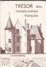 """JEU de DAMES.  Livre : """"TRESOR des MINIATURISTES FRANCAIS""""."""