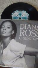 """DIANA ROSS UPSIDE DOWN OG UK 1980 MOTOWN 7"""" 45 TMG 1195"""