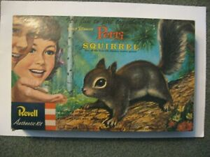REVELL/DISNEY--PERRI SQUIRREL MODEL--INCOMPLETE--$9.50 SHIPPING