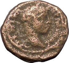Elagabalus Hadrianopolis in Thrace Ancient Roman Coin Tyche Fortuna Luck i47538