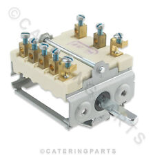 SW36 EGO 49.27215.746 ROTARY HEAT SELECTOR SWITCH 6 WAY 7 POSITION 4927215746