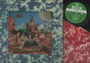 LP ROLLING STONES THEIR SATANIC MAJESTIES REQUEST 3D COVER UK STEREO + INNER