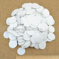 500PCS 30mm Felt Patch Circle Die Cut Appliques DIY Cardmaking Craft Round White
