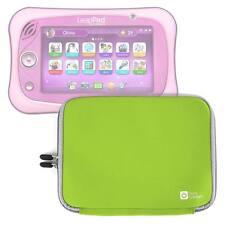 "Green 10"" Case in Neoprene W/ Dual Zip for the LeapFrog LeapPad Ultimate Tablet"