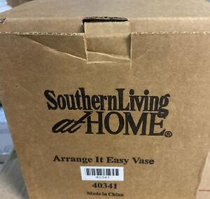 Green Southern Living at Home Arrange It Easy Vase Flower Frog #40341 NIB!