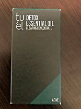 Tu'el Skin Care Detox Essential Oil ACNE Clearing Concentrate 0.5oz FAST SHIPPNG
